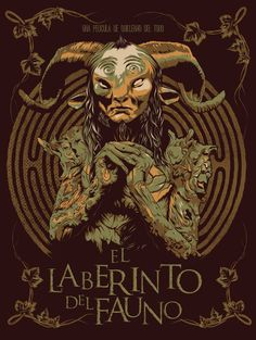 """El laberinto del fauno- OR translated to english audiences as """"Pan's labyrinth"""".Spanish film, fantasy film with a few scary elements. The ending made me cry, One of my faves ♡-liza Labyrinth Film, Pans Labyrinth Faun, Wallpaper Animes, Kunst Poster, Alternative Movie Posters, Movie Poster Art, Film Books, About Time Movie, Fantasy"""