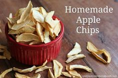 If you have never made apple chips before, this is a simple recipe!