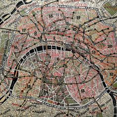 Paris, by Paula Scher