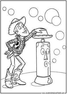 Coloriage A Imprimer Woody Et Buzz.Les 26 Meilleures Images De Coloriage Toy Story En 2018