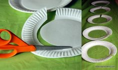 Paper Plate Olympic Rings - Meaningfulmama.com