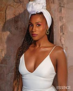 """Friends, I'm going to keep this short and sweet. """"Awkward Black Girl,"""" and star of HBO's Insecure, Issa Rae, ain't foolin' with none of us, and her latest spread, in Essence is proof. Box Braids Hairstyles, School Hairstyles, Box Braids Updo, Wedding Hairstyles, Halloween Hairstyles, Long Braids, Black Girls Rock, Black Girl Magic, Black Girl Style"""