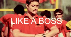 Dean like a boss <<< isn't this from Dawson's Creek?<<< Actually I think its from Smallville...