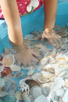 Water-Activites-For-Toddler-Shells-and-Water-Toddler-Play-Mommy-Scene