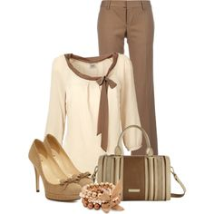 A fashion look from January 2013 featuring ESPRIT blouses, Dsquared2 pants and Kate Spade pumps. Browse and shop related looks.