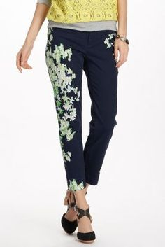 e3f6e1bd337493 Megaflora Charlie Trousers  Love this modern floral!  FlowerShop Floral  Pants