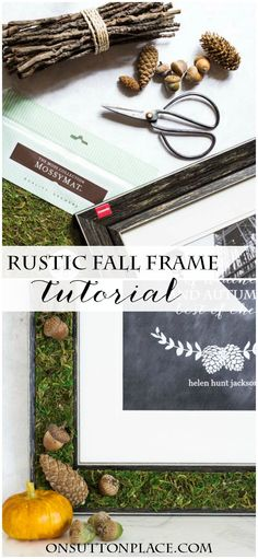 151 Best Decor Picture Frames Images On Pinterest Manualidades
