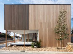 Image 8 of 46 from gallery of Dragon Court Village / Eureka. Photograph by Ookura Hideki Condominium Architecture, Timber Architecture, Architecture Design, Interior Design Images, Interior Design Boards, Wood Facade, Retreat House, Timber Cladding, Timber Panelling
