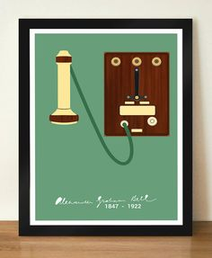 Alexander Graham Bell Inspirational and by DesignSailors on Etsy, $8.00