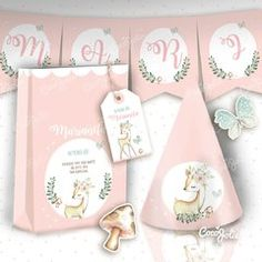 Rain of love. Baby Farm Animals, Pop Corn, Welcome Poster, Paper Pop, Banner Letters, Baby Shower Fall, Pink Birthday, Food Decoration, Flag Decor