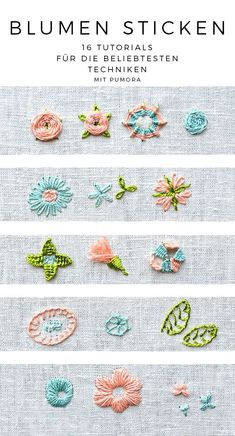 Wonderful Ribbon Embroidery Flowers by Hand Ideas. Enchanting Ribbon Embroidery Flowers by Hand Ideas. Hand Embroidery Tutorial, Hand Embroidery Stitches, Learn Embroidery, Crewel Embroidery, Embroidery Techniques, Ribbon Embroidery, Floral Embroidery, Hand Stitching, Knitting Stitches