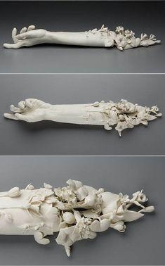 hand sculpture by Superduper