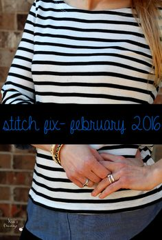 It's Stitch Fix- February 2016 time... my favorite time! My closet is being completely overtaken with everything Stitch Fix and I'm totally okay with that.