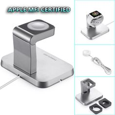 Magnetic Charging Stand Wireless Charger Dock  For Apple Watch iWatch 38mm/42mm #Poweradd