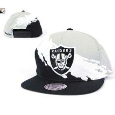 Mitchell   Ness Oakland Raiders Paintbrush Snapback Hat 57b5a488d59c