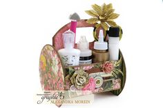 {60-Second Video Tutorial} Floral Shoppe Tool Caddy