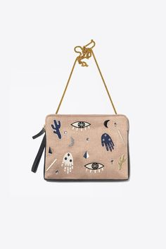 862ed1fee5a Safari Clutch, Voodoo Novelty Bags, Novelty Handbags, Small Leather Goods,  Leather Accessories