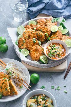 Thai Fish Cakes (Tod Mun Pla) | Asian | Appetizer | Main | Easy | Recipe |