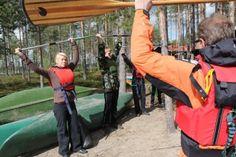 Avokanootin kokeilutapahtuma 11.9.2012 Rauhalahdessa. Hobbies, Events, Park, Places, Lugares, Parks