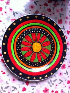 My new plate design, inspired by mexico