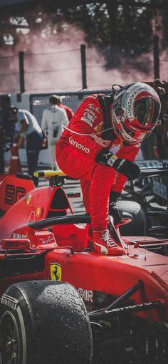 F1 Charles Leclerc Ferrari 2019 Italian Grand Prix Win Wallpaper