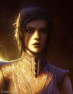 Nesryn : humain - mâle - classe noble - portrait