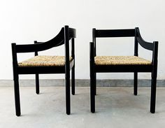 Black 892 Carimate chairs, Vico Magistretti available at NLStudio Shop Dining Chairs, Dining Rooms, My Living Room, Second Life, Branding Design, Indoor, Design Products, Classic, Designers