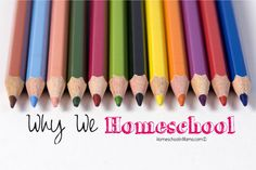 I'm always asked Why Do You Homeschool?  These are our top 5 reasons! #HSMama #homeschool #HomeEducation