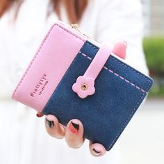 SWEET SHORT WALLET!!   Find More Wallets Information about 2016 New retro matte purse ladies leather wallets purses short Korean small wallet card bag zipper buckle girl money clip wallet,High Quality bag slider,China bag knitted Suppliers, Cheap bag ps1 from Shenzhen Idea Fashion Bags Co., Ltd on Aliexpress.com