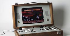 We've covered Swedish designer Love Hultén's magnificent retro gaming machines plenty of times before on The Verge, and his latest effort — the Cary42 two-player arcade console / attaché case —...