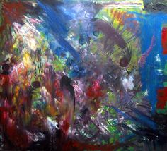 Oil on canvas, 90 by 80 cm.