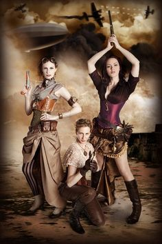 #steamPUNK ☮k☮ Girls