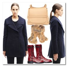 """SWMoscow"" by fatimka-becirovic ❤ liked on Polyvore featuring Marni, Ann Demeulemeester, The Row and Backlash"