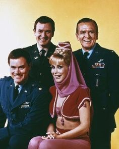 TV shows - I Dream of Jeannie:  I loved this when it was first on the air and enjoyed it again when my daughter watched and laughed during the reruns years later.