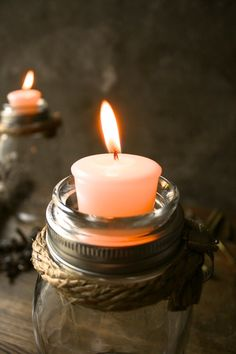 #Mason Jar Lighting Candle Holder Rustic Wedding Decor Glass Lighting Shabby Chic Lighting  #  Rustic