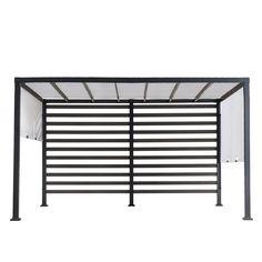 Aluminum Pergola, Cedar Pergola, Steel Pergola, Louvered Pergola, Black Pergola, Modern Pergola, Steel Wall, Steel Frame, Permanent Gazebo