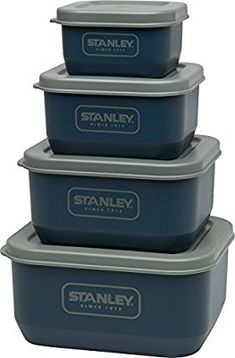 Amazon.com: Stanley Adventure eCycle Nesting Food Containers Navy: Sports & Outdoors