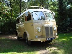 Peugeot D4B 1964 - camper version