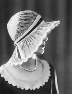 1929 #Hat #Design via #Tracy Chaplin