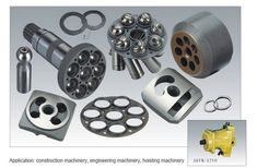 Replacement Rexroth engine Parts for Piston Pump A6VM107 spare parts repair or remanufacturing
