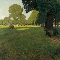 Carl Moll > Praterlandschaft, 1906/07