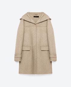 Image 11 of WOOL COAT from Zara