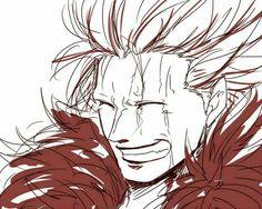 """Eustass """"Captain"""" Kid, smiling; One Piece"""