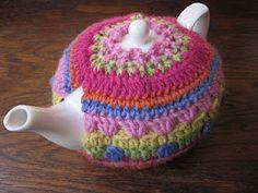 Crochet tea cosy