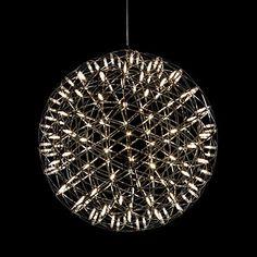 LED Pendant,42 LEDs, Globe Stainless Steel Acrylic Laser - AUD $ 330.56