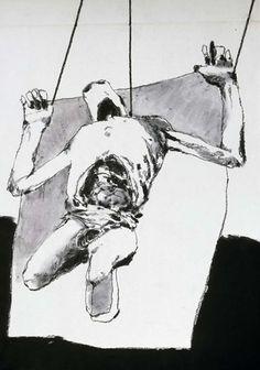 Cadaver Drawings by Robert M. Cunningham