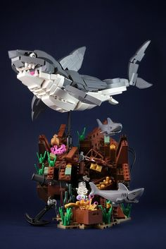 Fish are food! Wait, no, that's not right… http://www.brothers-brick.com/2016/07/16/fish-are-food-wait-no-thats-not-right/