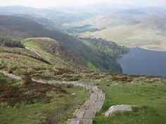 Djouce - in the Dublin mountains. A good walk for families and easily accessible from the city.