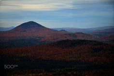 Mont Sugarloaf, Quebec - A view from Mont Sugarloaf, near Sainte-Lucie-de-Beauregard, Québec, Canada Beauregard, Sainte Lucie, Canada, Mountains, Nature, Travel, Voyage, Viajes, Traveling