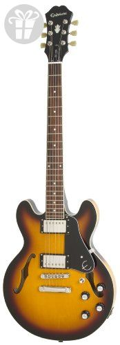 Epiphone ES-339 Semi Hollow body Electric Guitar, Vintage Sunburst (*Amazon Partner-Link)